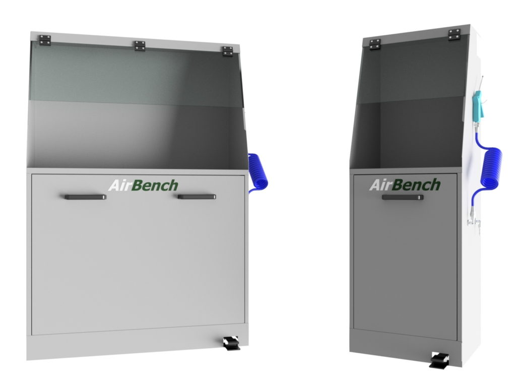BD1000 Coolant Blowdown Cabinet